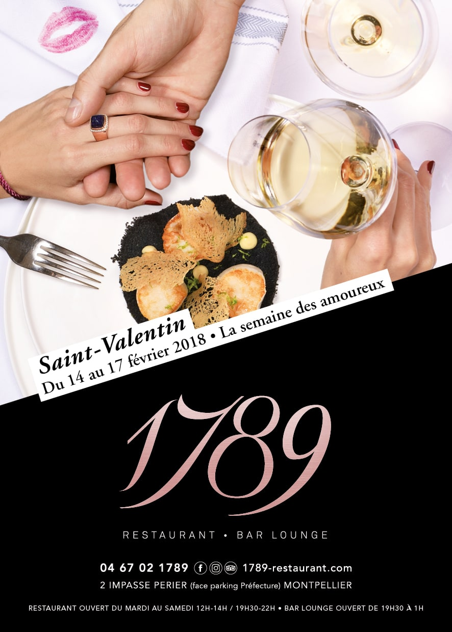 1789 restaurant bar lounge restaurant sp cialiste de for Cocktail 1789