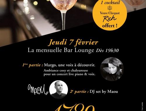 7 février : la mensuelle spéciale Piano Bar