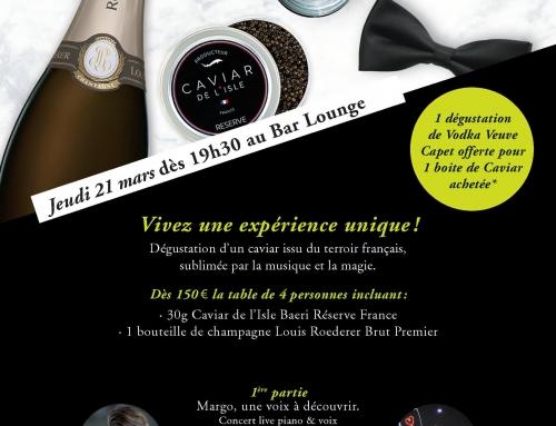La Mensuelle Prestige Acte 4 : Caviar & Vodka
