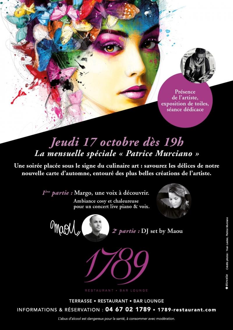 Soirée à Montpellier - La mensuelle du 1789 spéciale Patrice Murciano