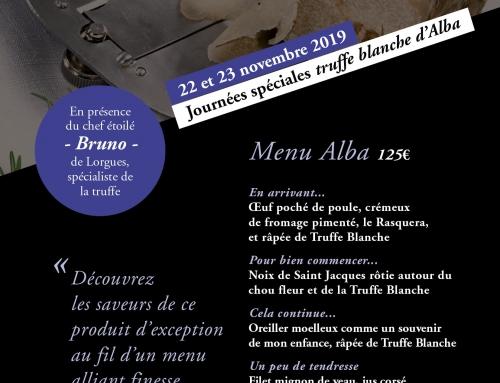 22 et 23 novembre : la Truffe blanche d'Alba à l'honneur