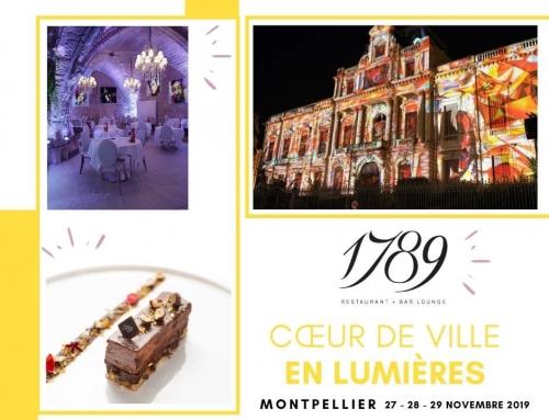 Montpellier cœur de ville en lumières 2019