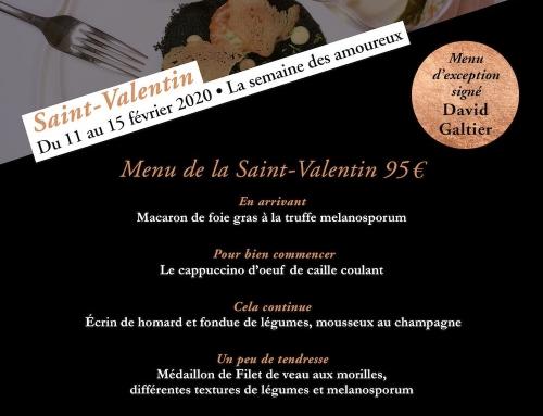 Saint-Valentin 2020 : la semaine des amoureux