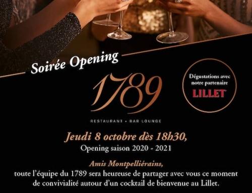 Soirée Opening saison 2020-2021